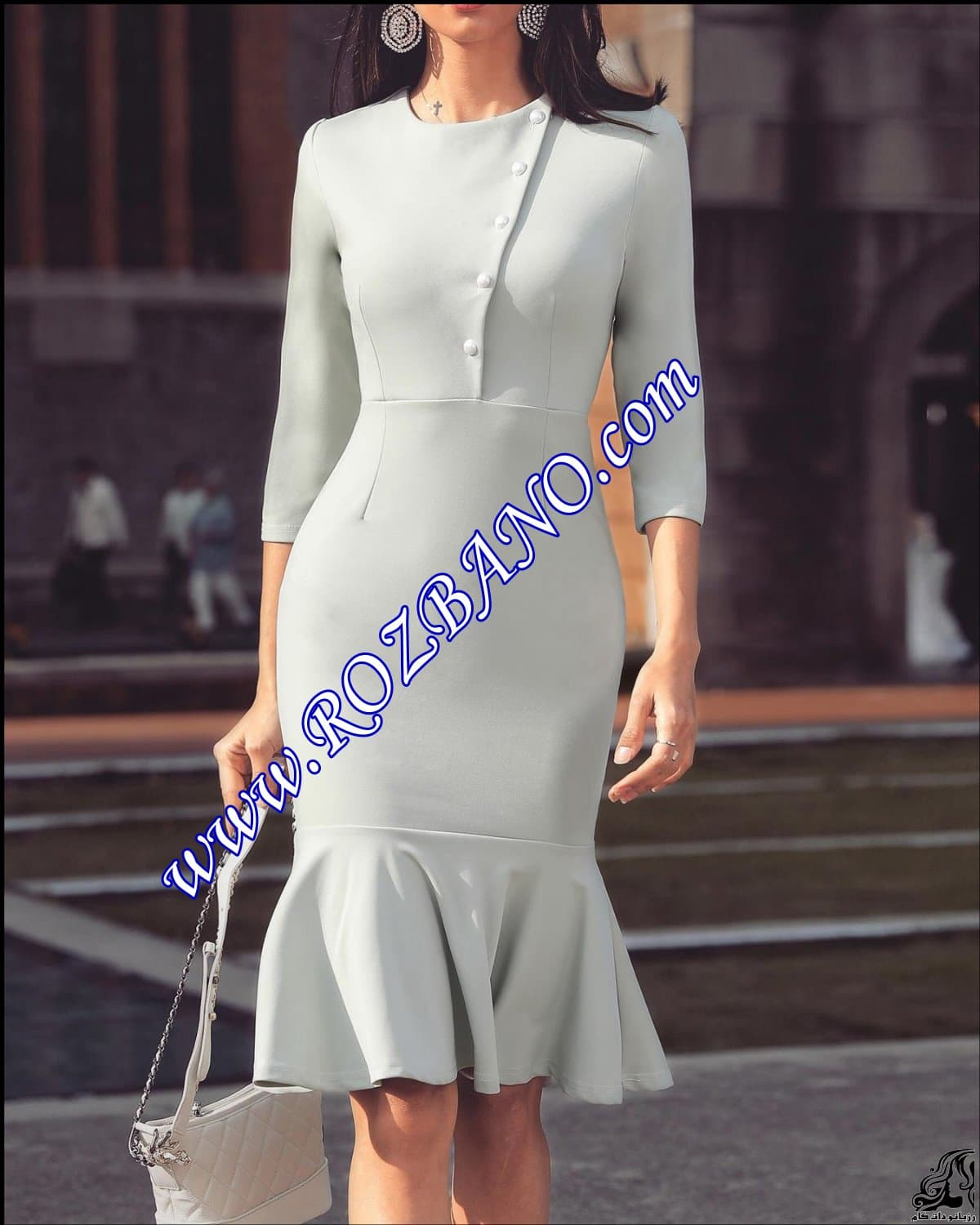 http://up.rozbano.com/view/2872201/Solid%20Button%20Design%20Pep%20Hem%20Bodycon%20Dress.jpg