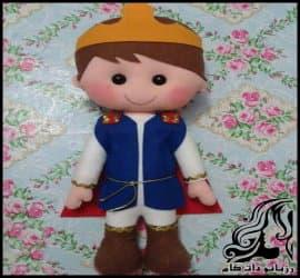 آموزش ساخت عروسک پسر شاهزاده