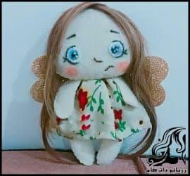 آموزش ساخت عروسک دختر کوچولوی با نمک