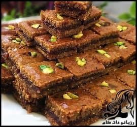 طرز تهیه کماچ سهن شيريني سنتي استان کرمان