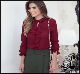 آموزش رسم الگو خیاطی پیراهن خاص زنانه