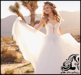 ده مدل لباس عروس شیک و فوق العاده جذاب