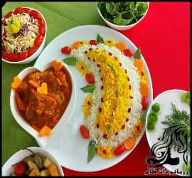 ایده هایی جالب و خلاقانه برای تزئین انواع خورش