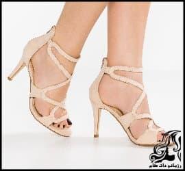 مدل های زیبای کفش پاشنه بلند مجلسی زنانه