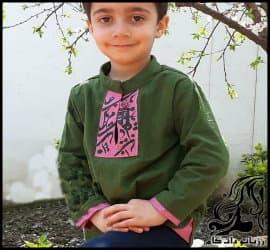 آموزش خیاطی و رسم الگو پیراهن پسرانه