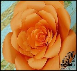 آموزش تصویری ساخت گل دکوراتیو زیبا