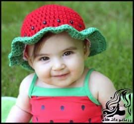 آموزش بافت دو مدل کلاه هندوانه مخصوص شب یلدا