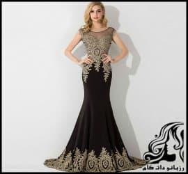 10 نمونه از مدل لباس شب بلند و زیبای زنانه