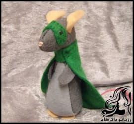 آموزش تصویری ساخت عروسک سوپر موش نماد سال 99