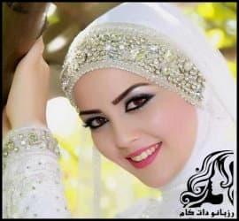 مدل های جدید و زیبای تور عروس محجبه عربی