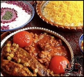 آشپزی و طرز تهیه خورش قیمه بادمجان خوش رنگ و لعاب