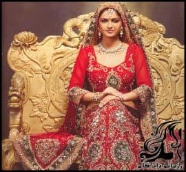 10 مدل لباس عروس زیبای هندی و پاکستانی
