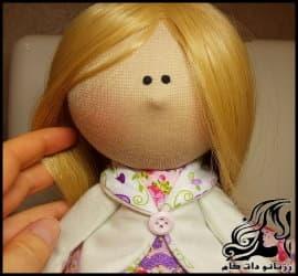 آموزش تصویری صفر تا صد ساخت عروسک روسی