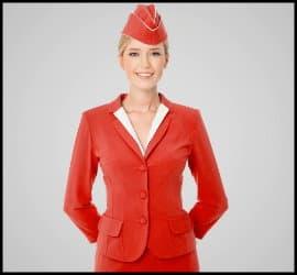 نکاتی در رابطه با رنگ لباس مهمانداران شرکت های هواپیمایی