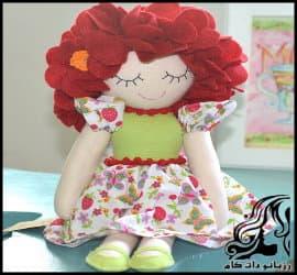 عروسک سازی و آموزش ساخت عروسک دختر نمدی