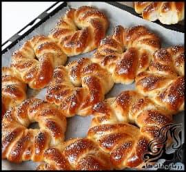 آشپزی و طرز تهیه نان آچما شویدی ترکیه ای