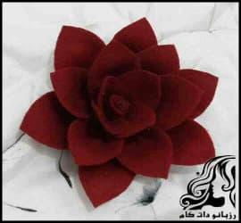کاردستی و آموزش ساخت گل مرداب