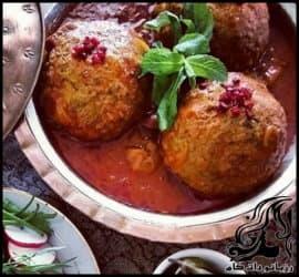 آشپزی و طرز تهیه کوفته همدانی
