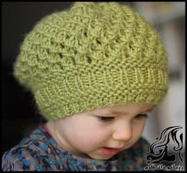 بافتنی و آموزش بافت کلاه کودک