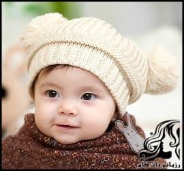 بافتنی و آموزش بافت کلاه پشمی پسرانه
