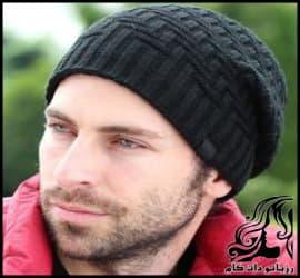 بافتنی و آموزش بافت کلاه مردانه مدل پلکانی