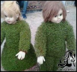 پرورش گل و گیاه و آموزش کاشت سبزه عروسکی