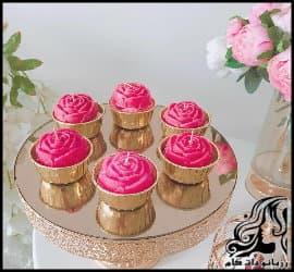 شمع سازی و آموزش ساخت شمع طرح کاپ کیک