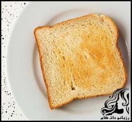 آشپزی و طرز تهیه نان تست سفید خانگی